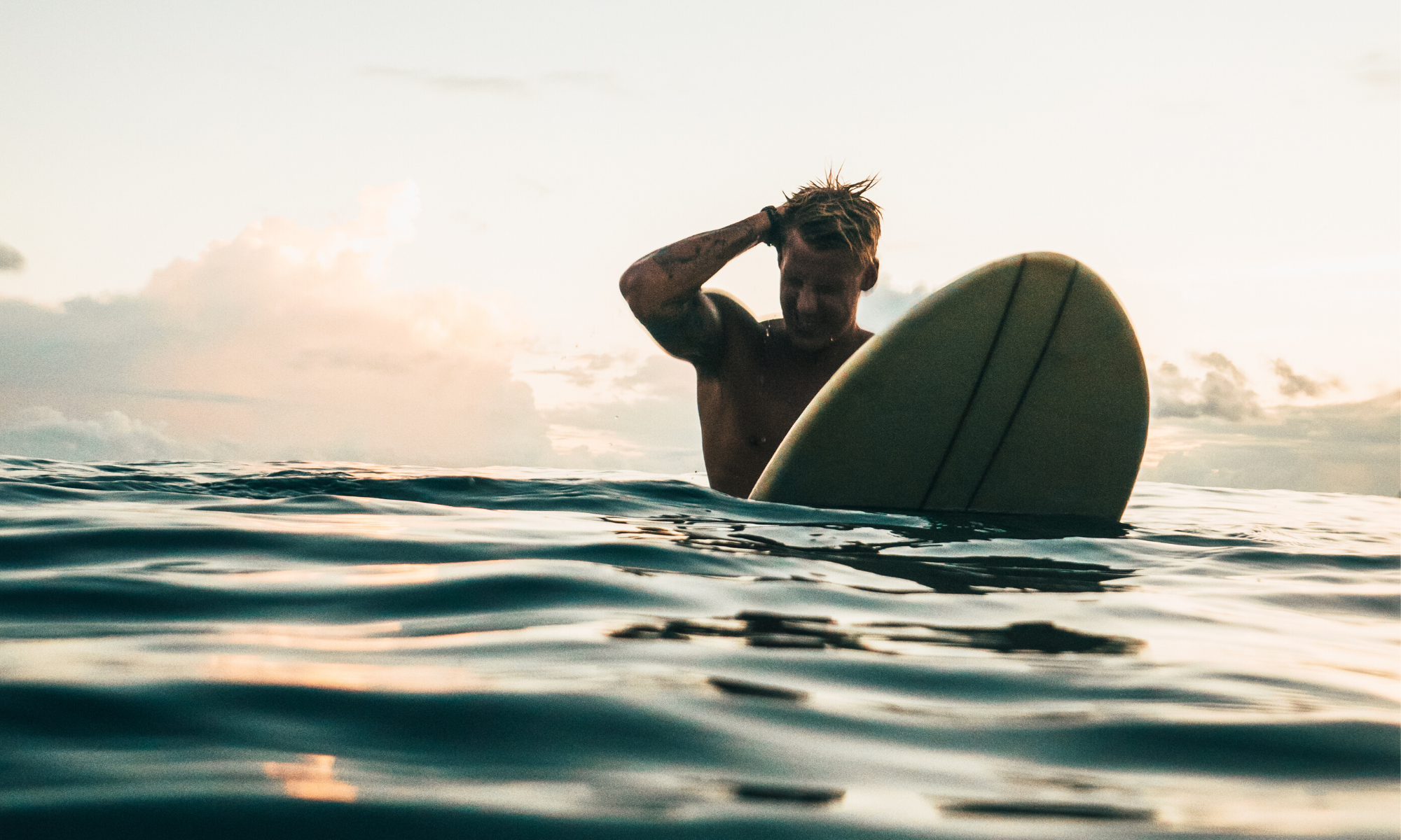 How a former city slicker replaced his morning commute with a morning surf