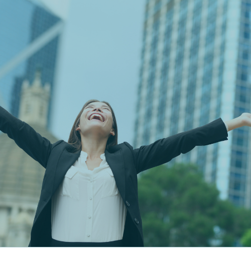 Become more successful by being happier - IMAGE