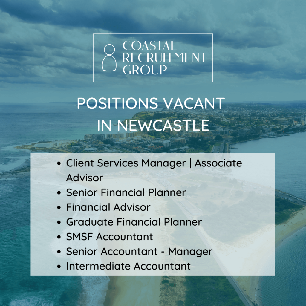 Positions vacant in Newcastle